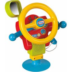 Little Tikes Playful Basics Play And Drive Steering Wheel 12 Months Up
