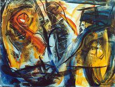 Rythme, 1994, 195 x 260 cm