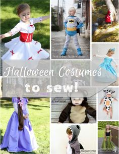 Halloween Costumes to Sew - From the super simple no sew costume to the somewhat challenging, there are all kinds of Halloween costume ideas out there.