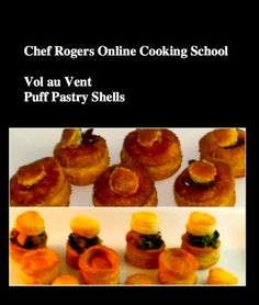 How to Make Vol au Vent-Puff Pastry Shells-Puff Pastry Cups-Cooking Classes