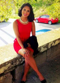 Vestido de Zara...un must Red Dress (foto propia)