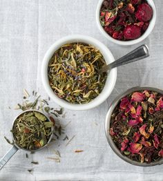 Nothing prettier than tea, herbs, spices, fruit and flowers. You won't find anything artificial in our spring teas. http://tattletea.coffeebeandirect.com/spring-refresher-sampler.html