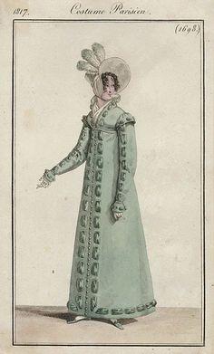 1817 Costume Parisienne 1698