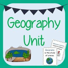 This product includes many resources to teach about geography. Concepts included: Location & Map Skills Natural and Human Characteristics Landforms Human/Environmental Interaction (Using, Modifying, and Adapting to the Environment, Positive and Negative Consequences) Natural Resources Movement
