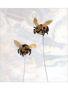 Sweet Bumblebee | InterweaveStore.com - BeadworkApril/May 2010