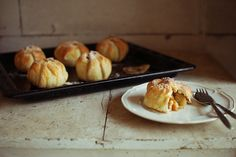 In the mood for food: Family weekend - baked apples in pastry