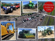 Lloyds Auctioneers and Valuers - Auction Lots Agriculture, Civilization, Wednesday, Transportation, Monster Trucks, Auction