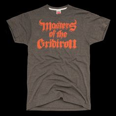 Vintage Masters Of The Gridiron T-Shirt