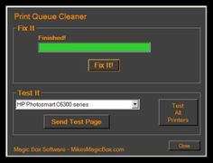 """MBS Print Queue Cleaner - Are you facing the dreaded """"Deleting…"""" that never ends when trying to delete a document stuck in the print queue? Do you need to get a document printed right away yet Windows refuses to help? Enter the MBS Print Queue Cleaner. No installation is required. Just download and run it. If you choose run in the download dialog you should be fixed in less than 30 seconds."""