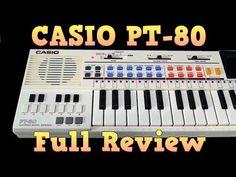 Casio PT-80 Circuit Bent by S-Cat - YouTube