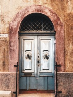 "maltadoors: "" The doors have eyes. I'm not sure whether it was the light, or the masterful way in which the door has been painted - special focus around the door knob panels - which caught my attention. Every now and again, you find a door and a..."