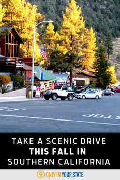 There's no better way to see fall colors than a stunning road trip! This scenic drive will take you to gorgeous natural sights and charming small towns. The best part is, it's only two hours! Jump in the car with a warm drink and experience autumn colors in Southern California. Lake Arrowhead Village, Best Bucket List, Famous Beaches, Big Bear Lake, Haunted Places, Small Towns, Southern California, Vacation Spots, Day Trips