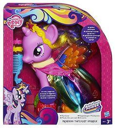 HASBRO My Little Pony Grand Poney Rainbow Power roseoubleu