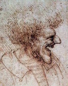 Leonardo da Vinci, 1452-1519  http://1.bp.blogspot.com/-KbyZqbWbLm4/UHYsLc9mFiI/AAAAAAAAIW0/8M8lCPhsgg4/s1600/davincisketchugly2itsjustlife.jpg