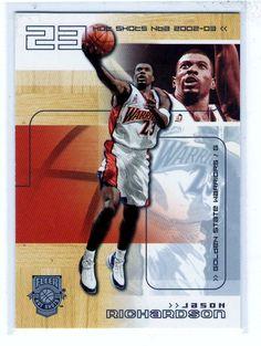 Sports Cards Basketball - 2002-03 Fleer Hot Shots Jason Richardson