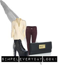 """simpe 2013"" by inger-t-helene ❤ liked on Polyvore"