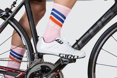 TSH Resort Pink + Stripes Socks — Tenspeed Hero