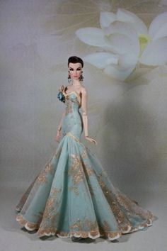 Monaeglow..Outfits for Fashion Royalty,FR2,Model muse barbie