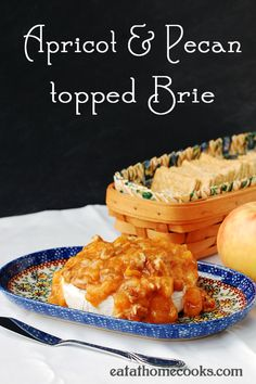 Apricot and Pecan Topped Brie Appetizer (and a Bakeware Giveaway!)