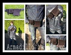 Armadillo, Fanny Pack, Messenger Bag, Pdf, Pattern, Bags, Fashion, Tutorials, Taschen