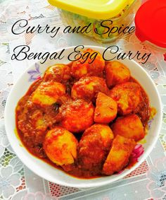 Curry And Spice Bengal Egg Curry