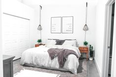 Urban, Industrial Style, Loft Master Bedroom