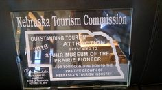 """If you haven't heard the good news Stuhr Museum won the """"Outstanding Tourism Attraction"""" award from the Nebraska Tourism Commission yesterday. There's more details on our website and we're extremely grateful for the honor."""