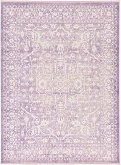 Purple 9' x 12' New Vintage Rug | Area Rugs | eSaleRugs