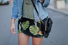 Tropical Print | Thrifts and Threads