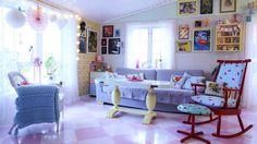 Alt i det elleville hjemmet handler om forelskelse. I retro, pastell og Pippi.