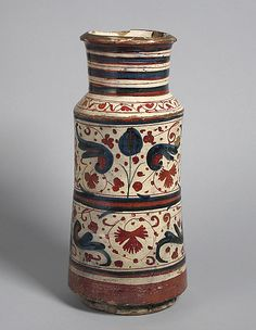 Pharmacy Jar  Date: second half 15th century Geography: Made in, Manises, Valencia, Spain Culture: Spanish