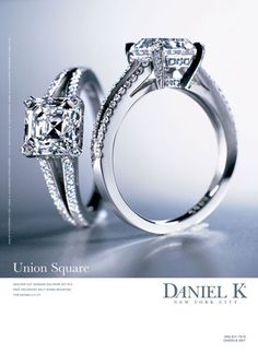 Daniel K. I  currently have a  beautiful asscher cut diamond, but some day when we make the upgrade this will be it!
