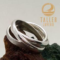 Anillo de plata estilo Cartier A0-805 #anillodeplata #accesoriosdemujer - Taller Joyero confección y diseño de joyas, Joyería online.