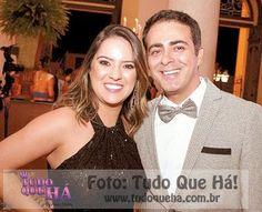 Publisher e Jornalista James Silver e  Luana Nunes  da Algo Mais