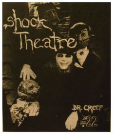 Ad for Shock Theater starring Horror Host Dr. Creep (the late Barry Hobart) of WKEF Television in Dayton, Ohio.