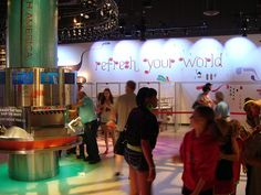 Coco-Cola World in Atlanta...favorite part was tasting all the different sodas