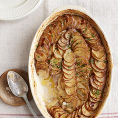 Leek and Potato Gratin Recipe - try with sweet potatoes and lots of pepper!!!