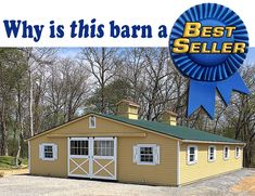 What makes a 'Low Profile' modular barn the right choice for you? Horse Barns, Horses, Horse Stuff, Country Life, Equestrian, Ranch, Shed, Profile, Outdoor Structures