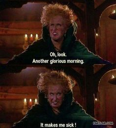Hocus Pocus - lol I can relate!