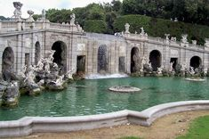 Fonte di Caserta, Italy. I really hope I can make it to Italy, but the budget is not looking good...