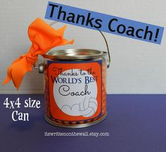 Thanks Coach (Gift Tags)  Put a tag on your gift for the coach to make it even nicer!  For Football, baseball, soccer, tennis, volleyball and basketball.    Back to school