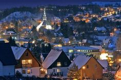 Seiffen - the Erzgebirge Christmas wonderland. Pinned by www.mygrowingtraditions.com