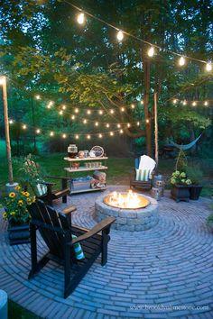 Pergola Design, Small Backyard Design, Backyard Patio Designs, Small Backyard Landscaping, Fire Pit Backyard, Diy Pergola, Landscaping Ideas, Backyard Ideas, Patio Ideas