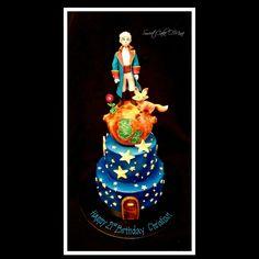 The Little Prince Birthday Cake www.sweetcakeomine.net