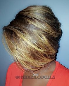 Cut is great but the colour and highlight gradations is Fabulous! Love Hair, Gorgeous Hair, Short Hair Cuts, Short Hair Styles, Sassy Hair, Curly Hair, Pelo Afro, My Hairstyle, Hair Affair
