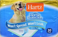 Hartz Maximum Protection Puppy Pads, 30 Count - http://www.thepuppy.org/hartz-maximum-protection-puppy-pads-30-count/
