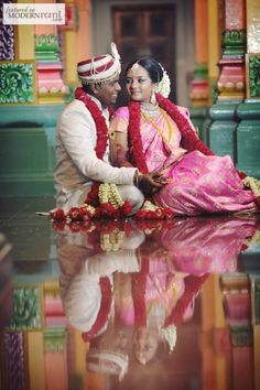 South Indian Wedding - more inspiration @ http://www.ModernRani.com