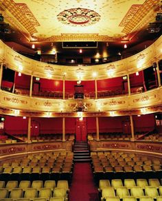 Built in 1766,  The Bristol Old Vic - Britain's oldest working theatre.