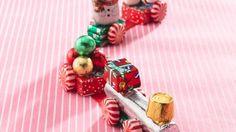 DIY Holiday Candy Trains by bettycrocker #DIY #Christmas #Candy_Train