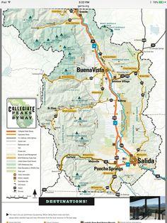 Ouzel Falls in Rocky Mountain National Park - Wild Basin Trail Map ...